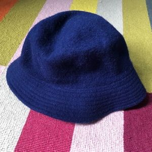 Vintage Blue Bucket Hat